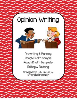Opinion Writing Frames