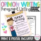 Opinion Writing Sentence Frames, Winter, Valentine's Day, ANY Topic