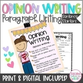 Opinion Writing, Sentence Starters/Stems, Winter, Holidays