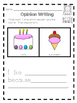 Opinion Writing: Graphic Organizers & Writing Prompts