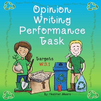 Opinion Writing Performance Task