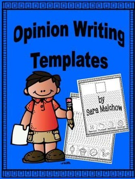 Opinion Writing Starters for Primary Students