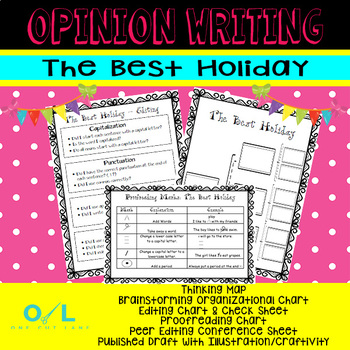 Opinion Writing - The Best Holiday