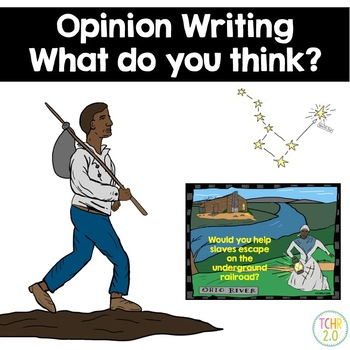 Opinion Writing February Underground Railroad Drinking Gou