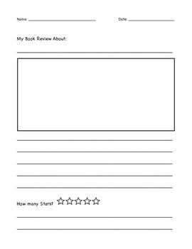 Opinion Book Review Writing Unit Paper