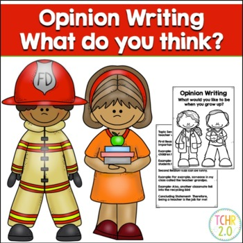 Opinion Writing Prompt When I Grow Up Community Workers