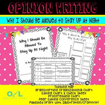 Opinion Writing - Why I Should Be Allowed To Stay Awake at Night