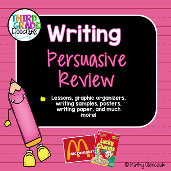 Opinion Writing -- Write a Review!