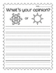 Opinion Writing and Fact or Opinion Sheet