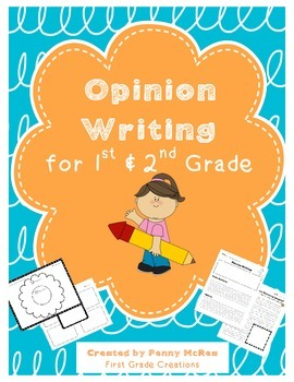Opinion Writing for Primary Grades