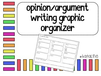 Opinion and Argument Writing Organizer
