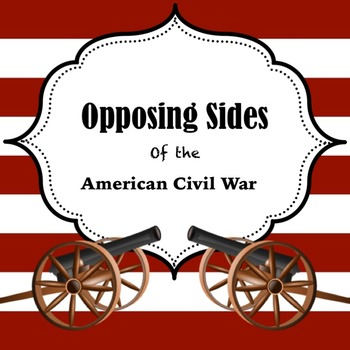 Opposing Sides of the Civil War PowerPoint