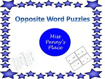 Opposite Word Puzzles