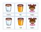 Opposites Antonyms Montessori Three Part Cards - color cli