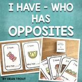 Opposites Card Game