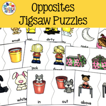 Opposites Jigsaw Puzzles