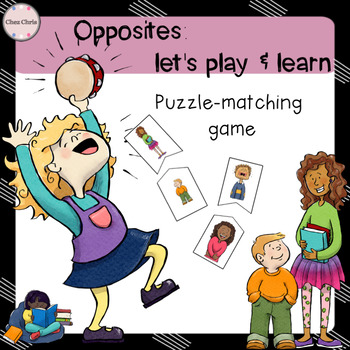 Opposites: puzzle-matching game