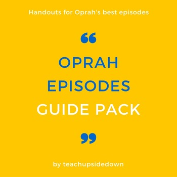 Oprah Episodes Guide Pack