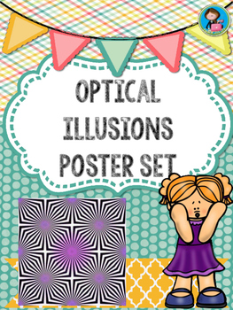 Optical Illusions Posters Set