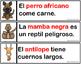 Oraciones de los Animales Fluidez Animal Sentences Fluency