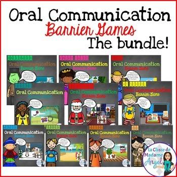 Oral Communication Barrier Games - The BUNDLE