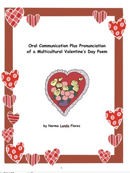 Oral Communication Plus Pronunciation of a Multicultural V