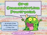 Oral Communication Powerpoint