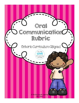 Oral Communication Rubric