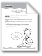 Oral Language: Microphones and Skit Prompts (Ten-Minute Ac