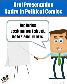 Oral Presentation Satire in Political Comics