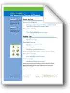 Oral Segmentation Phoneme by Phoneme (assessment)
