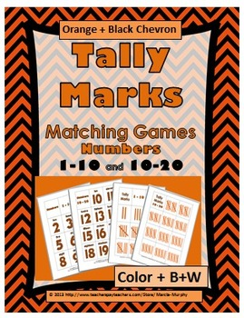 Tally Marks - Numbers 1-10 & Numbers 11-20 - Autumn Activi
