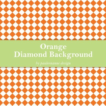 Orange Diamond Background