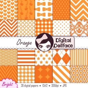 Digital Paper - Orange