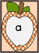 Orange Dot Apple  Dolch Pre-Primer Sight Word Flashcards a
