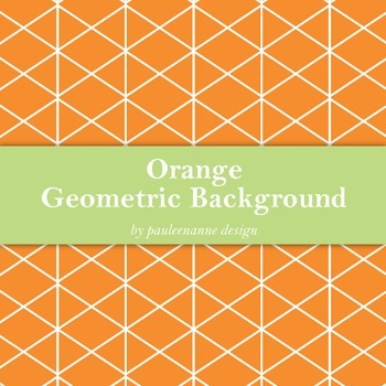 Orange Geometric Background
