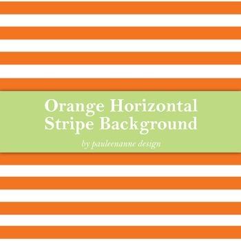 Orange Horizontal Stripe Background