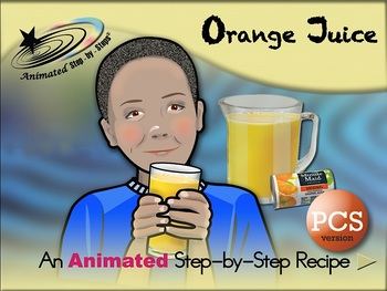 Orange Juice - Animated Step-by-Step Recipe PCS