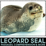 Leopard Seal: Informational Article, QR Code Research & Fact Sort