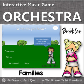 Orchestra Families! Listen closely to the sound (Interacti