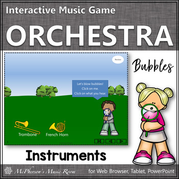 Orchestra Instruments! Listen closely to the sound (Intera