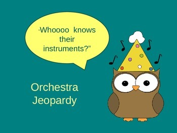 Orchestra Jeopardy