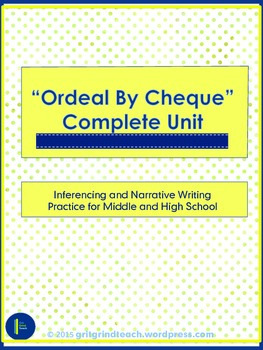 """""""Ordeal by Cheque"""" Unit"""