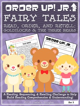 Goldilocks and the Three Bears - Order Up! Jr. Read, Order