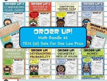 Math Bundle #2 Order Up! (10 Sets)