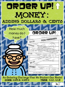 Adding Dollars and Cents - Order Up!