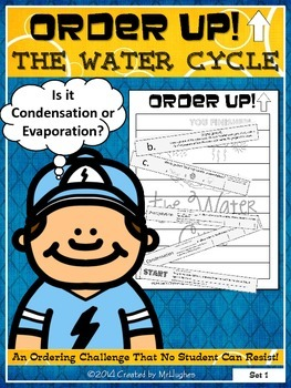 The Water Cycle - Order Up! {Set 1}