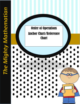 Order of Operation- GEMS Anchor Flow Chart