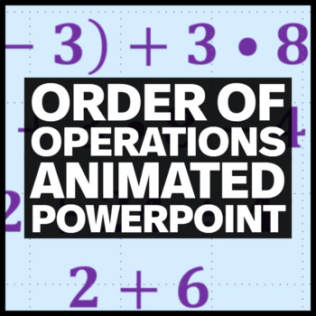 Order of Operations Animated PowerPoint
