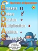 Order of Operations Poster - Ideal for Math Walls and the